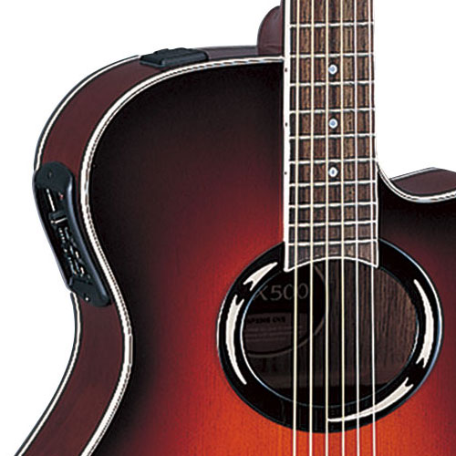 Электроакустической гитары yamaha apx500